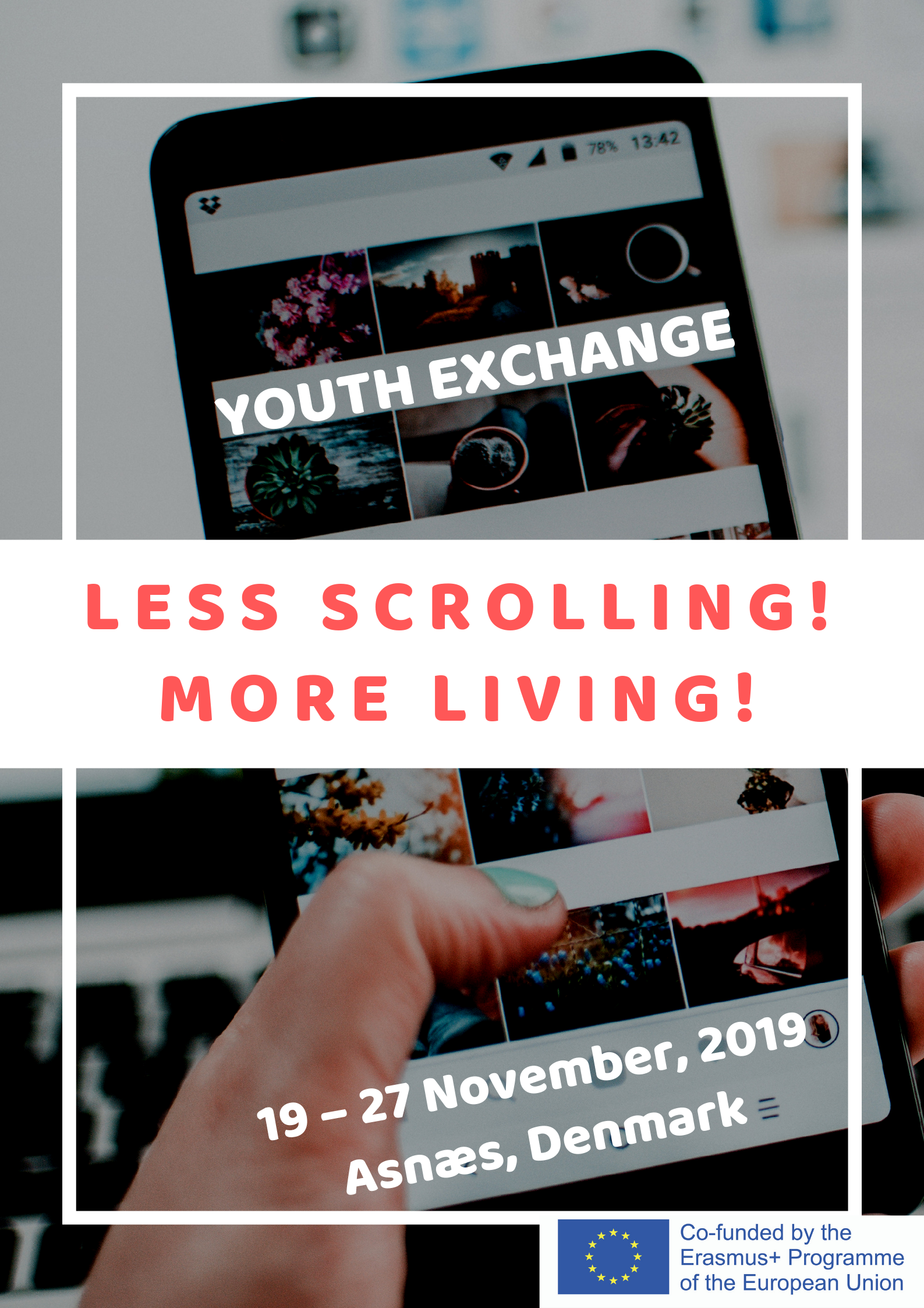 """""""Less Scrolling! More Living!"""""""