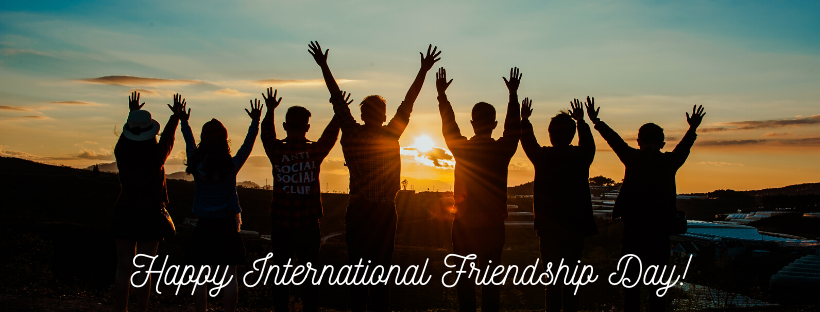 Happy International Friendship Day!
