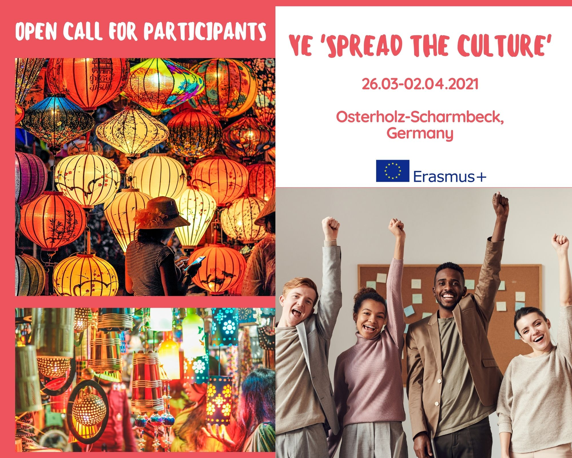 "Call For Participants For A Youth Exchange ""Spread The Culture"""