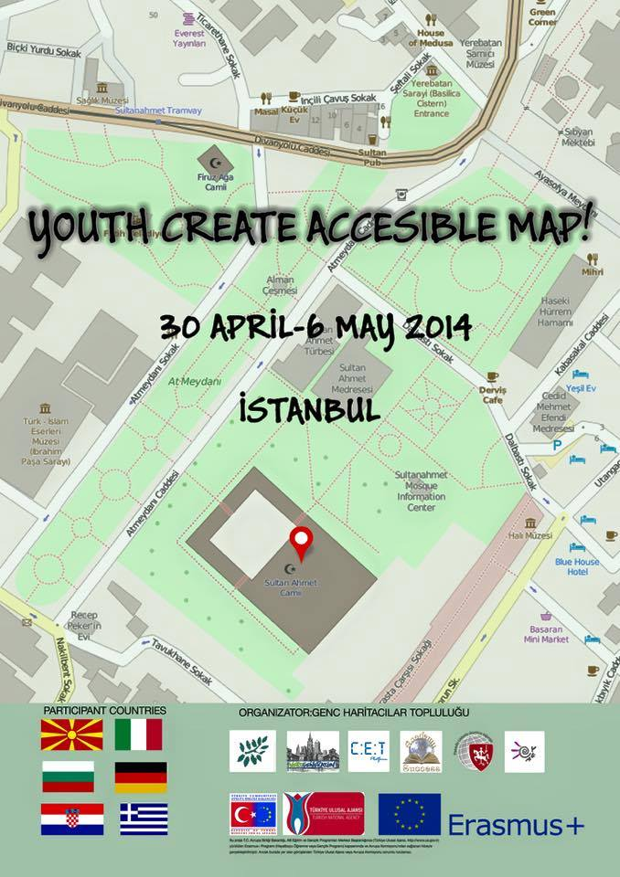 Youth Create Accessible Map
